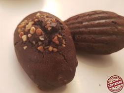 madeleine au chocolat sans gluten sans lactose