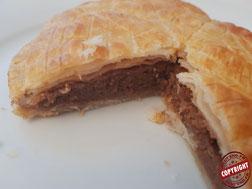 galette frangipane chocolat sans gluten sans lactose