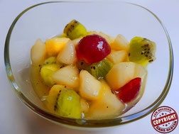 salade de fruits sans GLO