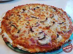 pizza sans gluten sans lactose sans oeuf