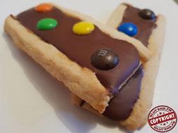biscuit façon barre m&ms sans gluten