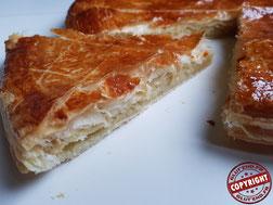 galette à la frangipane express sans gluten sans lactose
