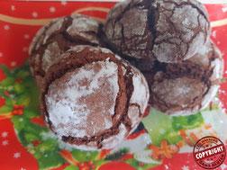 crinkles chocolat sans gluten sans lactose