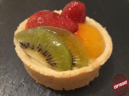 tartelettes aux fruits sans gluten sans lactose