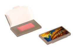Verpackung Mailingverpackung Karton Frosch