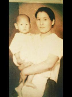 小林夢狂 MukyoKobayashi 母と