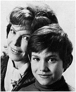 Cécile Aubry et son fils Mehdi