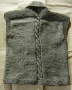 縄編み一本