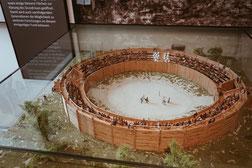 das römische Amphitheater