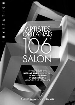 Claude Rossignol - Affiche 106è Salon des Artistes Orléanais 2013