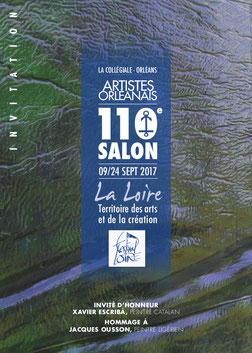 Claude Rossignol - Affiche Salon des Artistes Orléanais 2017