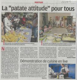 La Provence 24 septembre 2012