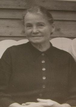 Das Bild zeigt Katharina Funke im Oktober 1961