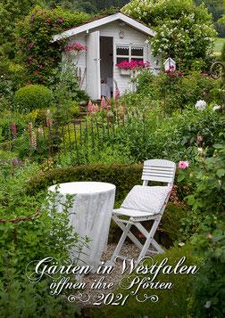 Titelbild der Gartenbroschüre 2021