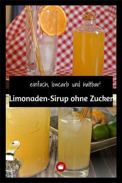Limonaden-Sirup ohne Zucker #sirup #lowcarb #ohnezucker