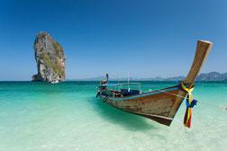 Thailand, Fischerboot