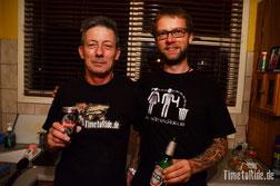 """Neuseeland - Motorrad - Reise - Rik """"Frogman"""" und Helle im Timetoride Outfit"""
