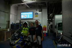 Neuseeland - Motorrad - Reise - Fähre Interislander - Wellington