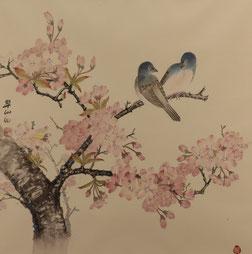桜 (工筆画)