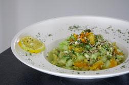 Fruchtiger Rohlkost mit Feta | low carb und vegetarisch