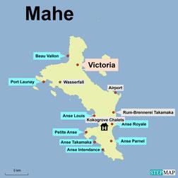 Bild: Seychelleninsel Mahé
