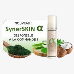 Complément alimentaire crème syner skin alpha algue synerj
