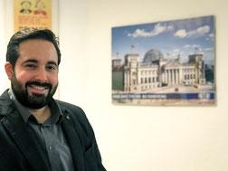 Steffen Scherer, Leiter Wahlkreisbüro