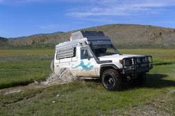 Gandalf im Altai Gebirge