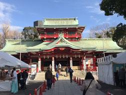富岡八幡宮 本殿