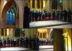 concert de la classe de chant grégorien du conservatoire de Metz