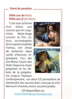 Caecilia, art sacré. n°1 Janvier 2014, page 47