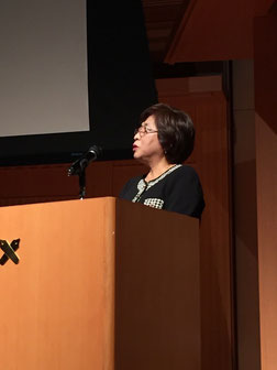 日吉本町地区発表  吉武泰子さん