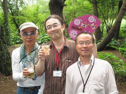 高橋さん、小野寺さん、小関さん