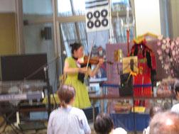 無伴奏ヴァイオリンのAIさん