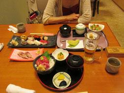 お昼は近くのパセナカmisseの「乙姫」で