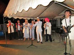 ワカダンナバンドでは、お客様もみ~んな踊りました…結果、踊っている写真はありません(笑)