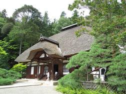 落ち着いた佇まいの常楽寺