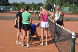 Wir nehmen den Tennissport sehr ernst...