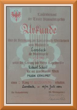 Mk-Grins, Konzertmusik-Bewertung 1971