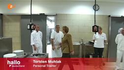 Merkel ZDF Küche