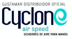 SECADOR DE MANOS CYCLONE ÓPTICO BLANCO VERTICAL CO2BV