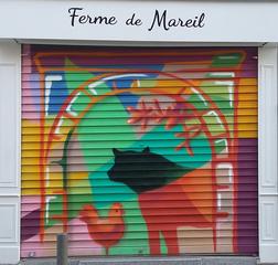 Annexe du magasin de la ferme à Bagnolet