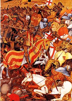 Jordi de Sant Jordi-Caballero y escritor en lengua valenciana