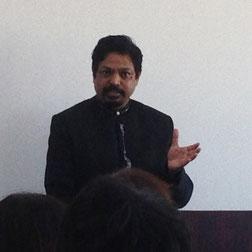 インド人講師マルカスさん