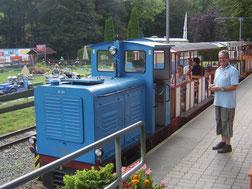 Salonwagen der Parkeisenbahn Plauen