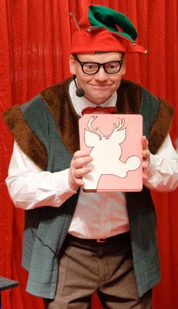 Weinachtself, Zauberprogramm für Kinder