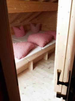 Zimmer / Lager im Brunnenkogelhaus