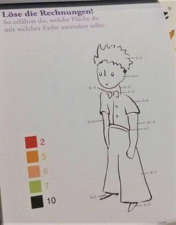 Aufgabenblock  - Der Kleine Prinz - für Kindergartenkinder und Grundschulkinder