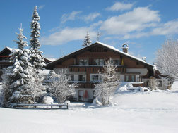 Chalet-Alpin im Winter