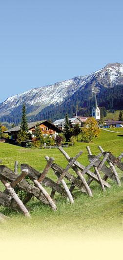 Chalet-Alpin im Sommer